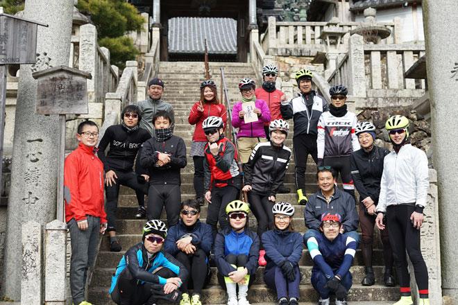2018年最初のロードバイク走行会を開催しました!