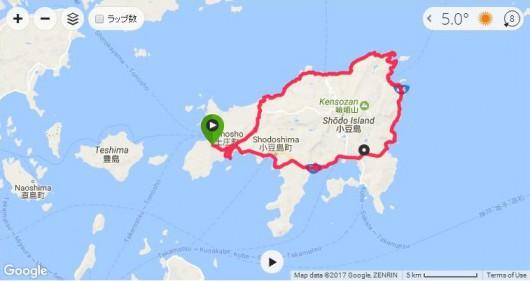 冬でも楽しくサイクリング!TREK DOMANE SLRで小豆島1周。