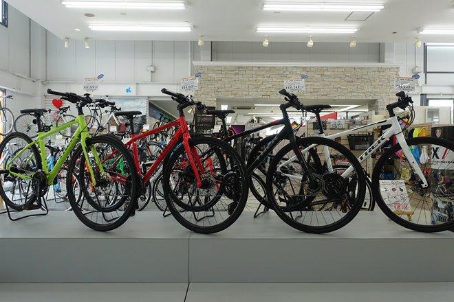ディスクブレーキのクロスバイクが充実!TREK(トレック) FX3DISC(エフエックス3ディスク)全色&WSD(ダブルエスディー)…