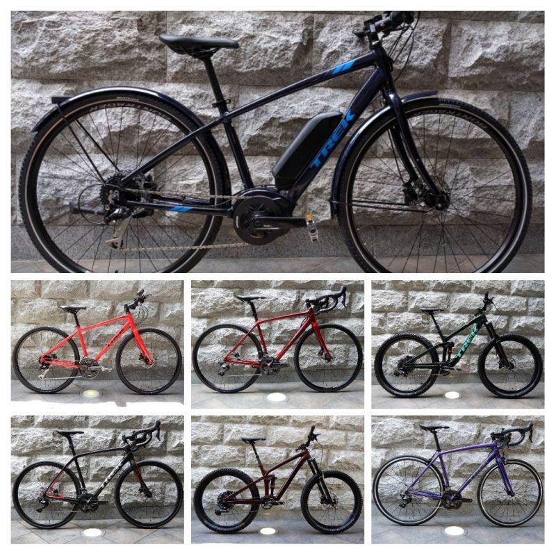 TREK(トレック)ロードバイク、クロスバイク、マウンテンバイクの人気モデル試乗車あり〼!