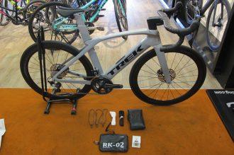 ロードバイク|輪行 TREK(トレック)MADONE(マドン)を、たった10分で収納できる輪行袋!