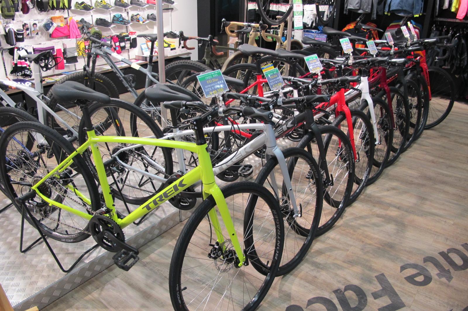 【宝塚店】今すぐ欲しい方必見!TREK スポーツバイク在庫状況。