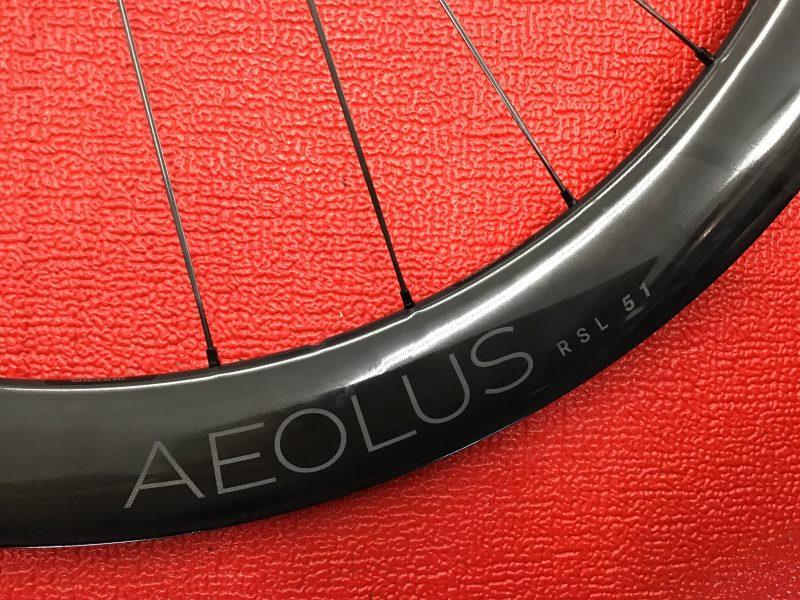 ボントレガー史上最速ホイール「AEOLUS RSL51」入荷しました!